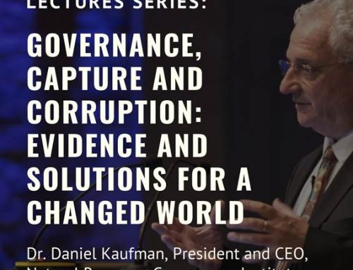 Kapuscinski Kalkınma Konuşmaları: Daniel Kaufman